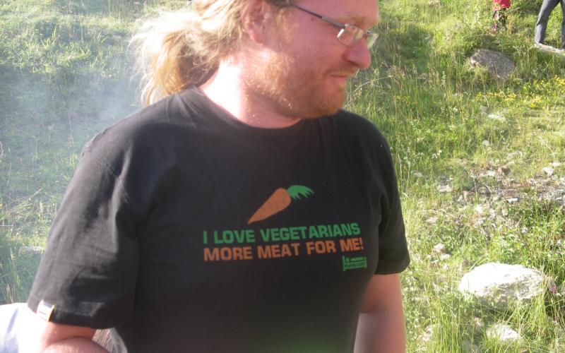 ben, I love vegetarians, more meat for me.